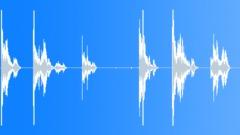 Metal Drops Single Rim:Drop Concrete x6 Light Bang Rims Bouncing Ratt Sound Effect