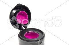 Magenta color jar Stock Photos