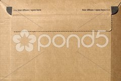 Packet parcel Stock Photos