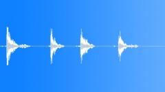 Metal Drops Three Rims:Drop Concrete x4 Hard Bang Rims Rattle Shake Sound Effect