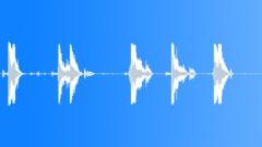 Metal Drops Three Rims:Drop Concrete x5 Hard Bang Rims Rattle Shake Sound Effect