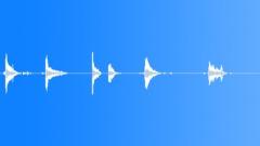 Metal Drops Three Rims:Drop Concrete x6 Hard Bang Rims Rattle Shake Sound Effect