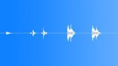 Metal Drops Three Rims:Drop Gravel x5 Hard Bang Rims Rattle Bounce L Sound Effect