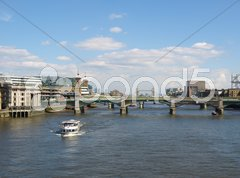 River Thames in London Stock Photos