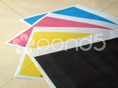 Print test Stock Photos