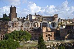 Foro Traiano Stock Photos