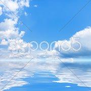 Bright sky Stock Photos