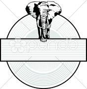 Elefant Sign Stock Photos
