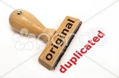 Original Duplikat Stock Photos