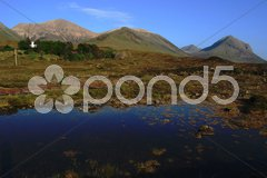 Red Hills belonging to the Cuillin on the beautiful Isle of Skye Stock Photos
