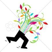 Blumen Glückwunsch Kuvituskuvat