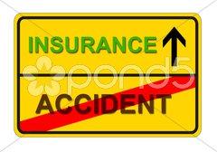 Unfall Versicherung Stock Photos