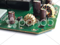Printed circuit Stock Photos
