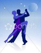 Mitternachts Tango Stock Photos