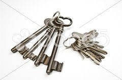 Schlüsselbunde Stock Photos