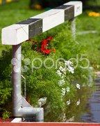 Am Wassergraben Stock Photos