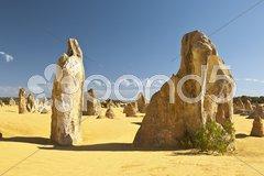 Pinnacles Stock Photos