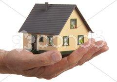 Haus Angebot Stock Photos