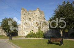 Rochester Castle Gate House Stock Photos
