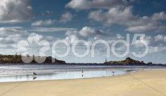 Entrance island Stock Photos
