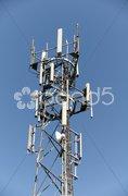 Phone mast Stock Photos