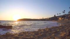 4K Laguna Beach Time Lapse Stock Footage