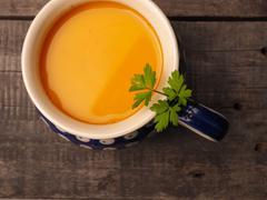 Hokkaido cream soup Stock Photos