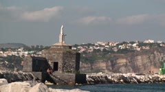 Island of Procida, Naples Italy Stock Footage