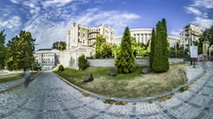 Gorodetsky House in Kiev. Stock Footage