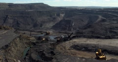 Work coal mine/time lapse Stock Footage