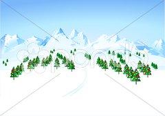 Winter Wunderland Stock Photos