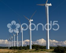 Windräder Stock Photos