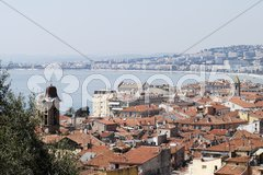 Cityscape of Nice. Cote d'Azur. France Stock Photos