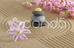 Zen garten Stock Photos