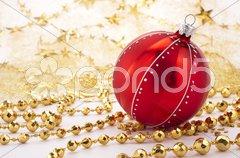Weihnachten Dekoration Schmuck Stock Photos