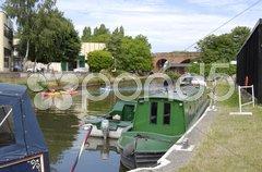 Wey Navigation. Guildford. Surrey. England Stock Photos