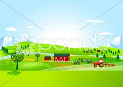 Bauernhof, Farm Stock Photos