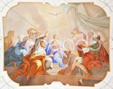 Fresco ochsenhausen Stock Photos