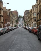 Glasgow hill Stock Photos