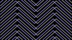 Blured Lines Purple on Black Buckground Vj Loop Stock Footage
