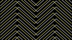 Blured Lines Yellow on Black Buckground Vj Loop Stock Footage