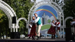 Folk Dances Stock Footage