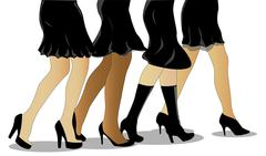 Little Black Dress Stock Illustration