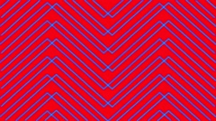 Red Background Blue Mapping Stripes Vj Loop Stock Footage