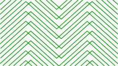 White Background Green Mapping Stripes Vj Loop Stock Footage