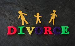 Divorce play letters Kuvituskuvat