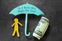 Roth IRA retirement planning Stock Photos