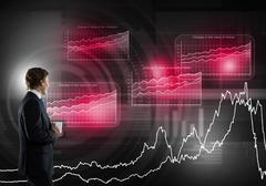 Innovative media technologies Stock Photos