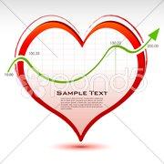 Business love Stock Illustration