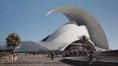 Auditorio De Tenerife Stock Footage